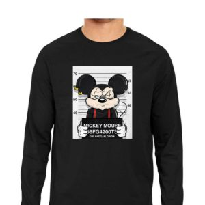 Most Wanted Mickey-Mouse T-Shirt