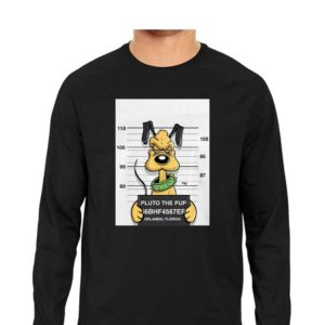 Most Wanted Pluto-The-Pup T-Shirt