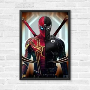 Spiderman-Suit-Framed Poster A3