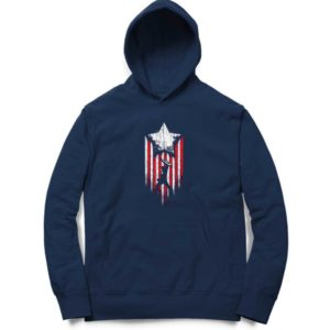 Captain-America-&-The-Flag Hoodie