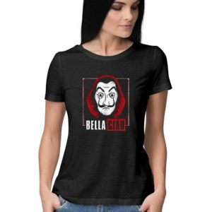Money Heist Bella Ciao Women T-shirt